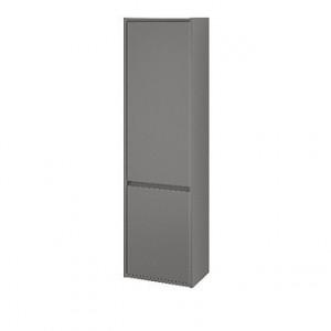 s924-025 gri Dulap coloana suspendat Crea Cersanit, 140 cm