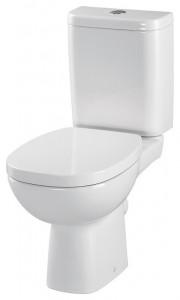 Set Vas wc cu rezervor si capac cu inchidere lenta Facile Cersanit
