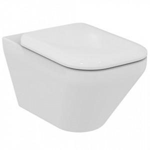 Vas wc suspendat Ideal Standard Tonic II AquaBlade + capac wc