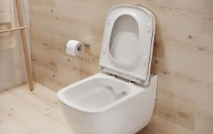 caspia cersanit vas wc suspendat clean on si capac cu inchidere lenta  k98-0145