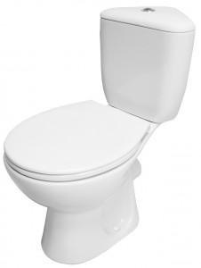 Set wc stativ compact Cersanit President cu rezervor pe colt si capac