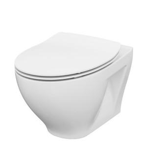Vas wc suspendat cu capac soft close Moduo Cersanit CleanOn
