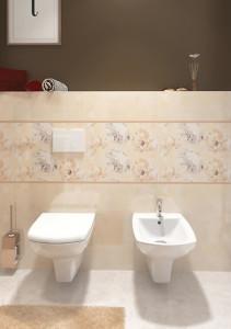 cersanit carina cleanon vas wc bideu suspendat alb