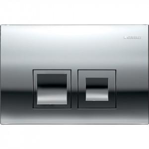 Clapeta de actionare Geberit Delta50 pentru spalare cu doua volume de apa crom lucios  115.135.21.1