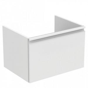 Dulap baza suspendat pentru lavoar Tesi Ideal Standard cu 1 sertar, 60 cm, diverse culori