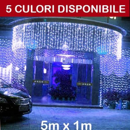 PERDEA LUMINOASA, 5M X 1M (LXH), EXTERIOR, DEC24051LFALL
