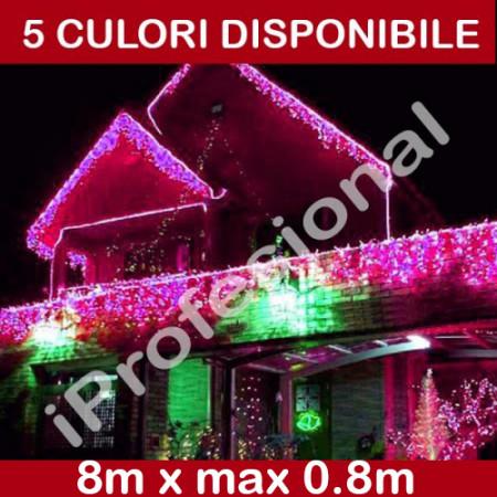 PERDEA TURTURI IPROFESIONAL, 8M X MAX 0.8M, EXTERIOR, IDEC176LFALALL