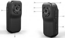 Mini hd sport kamera 1080p minikamera kép