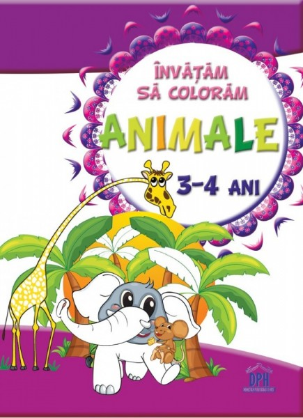 Invatam sa coloram animale - 3-4 ani