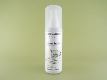 Deodorant natural Neutrino unisex spray  VIVANATURA (100 ml)