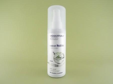 Deodorant natural Neutrino unisex spray VIVANATUR