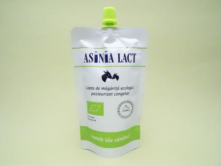 Lapte de magarita ecologic pasteurizat congelat   ASINIA LACT
