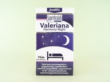 Valeriana Harmony Night Juta Vit JUVAPHARMA Kft.