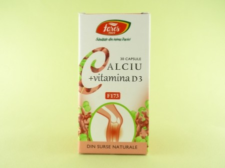 Calciu + Vitamina D3 FARES
