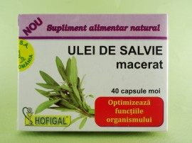 Ulei de salvie macerat HOFIGAL