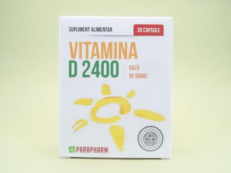 Vitamina D 2400 Raza de soare PARAPHARM