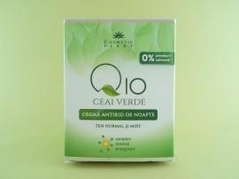 Crema antirid de zi Q10 + ceai verde si complex mineral energizant COSMETIC PLANT (50 ml)