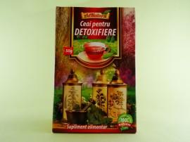 Ceai pentru detoxifiere  ADNATURA