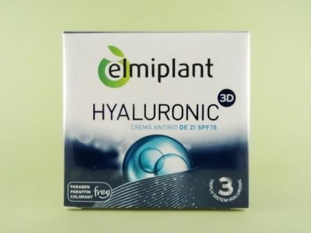 Crema antirid de zi Hyaluronic 3D SPF15 ELMIPLANT