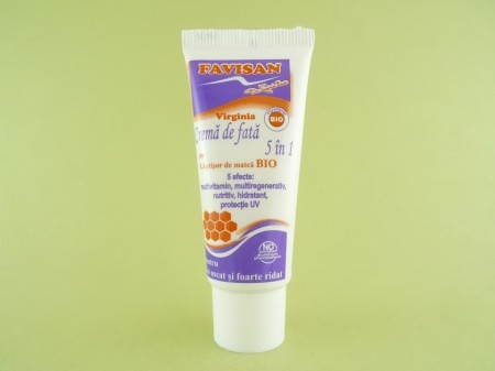 Crema de fata 5 in 1 cu laptisor de matca bio  FAVISAN