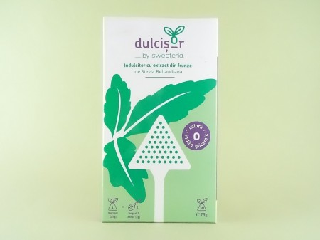 Indulcitor Dulcisor piramide SWEETERIA (2,5 g x 30 plicuri)