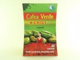 Cafea verde + Chili Dr. Chen Patika (60 de capsule)