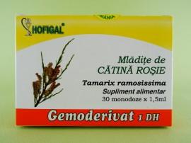 Mladite de catina rosie - gemoderivat HOFIGAL (30 de monodoze x 1,5 ml)