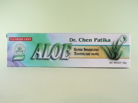 Pasta de dinti cu Aloe vera + periuta de dinti DR. CHEN PATIKA