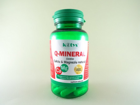 Q-MINERAL Calciu si Magneziu natural  KOTYS