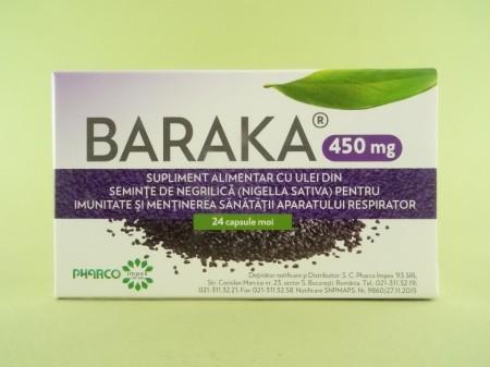 BARAKA 450 mg  PHARCO PHARMACEUTICALS  (24 de capsule)