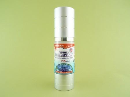 Crema hidratanta cu eucerina, albastrele, vitamina C, vitamina E si 15 plante bio FAVISAN