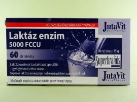 Enzima lactaza 5000 FCCU JUTAVIT