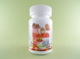 Lion Kids + D Calivita International (90 de tablete masticabile)