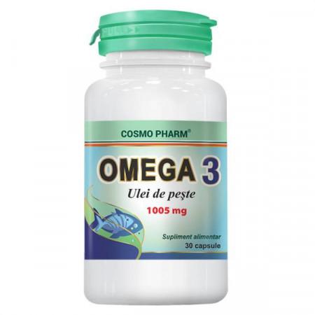 Omega 3 ulei de peste 1005 mg COSMO PHARM