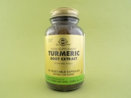 Turmeric extract standardizat din radacina SOLGAR (60 de capsule vegetale)