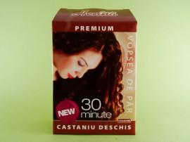 Vopsea de par Premium castaniu deschis  SONIA HENNA (60 g)
