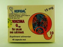 Coenzima Q10 în ulei de catina 15 mg  HOFIGAL