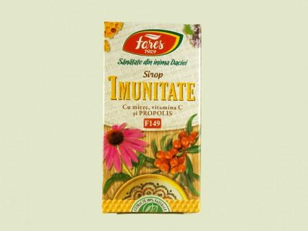 Sirop Imunitate cu miere de albine, propolis si vitamina C   Fares