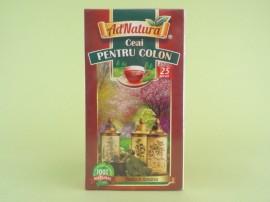 Ceai pentru colon ADNATURA (25 de plicuri)
