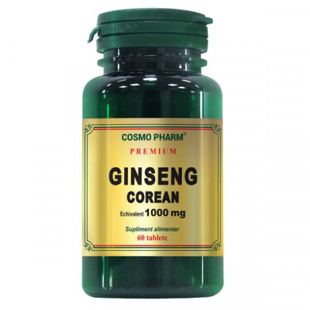Ginseng corean 1000 mg COSMO PHARM