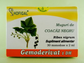 Muguri de coacaz negru - gemoderivat HOFIGAL