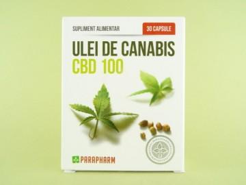 Ulei de canabis CBD 100 PARAPHARM