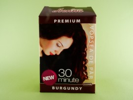 Vopsea de par Premium burgundy SONIA HENNA