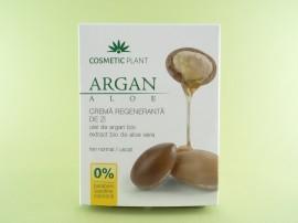 Crema regeneranta de zi cu ulei de argan bio si aloe vera bio COSMETIC PLANT