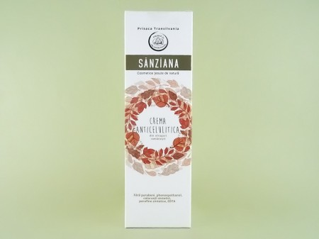 Crema anticelulitica Sanziana PRISACA TRANSILVANIA (200 ml)