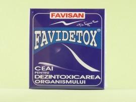 FAVIDETOX Ceai pentru dezintoxicarea organismului  FAVISAN