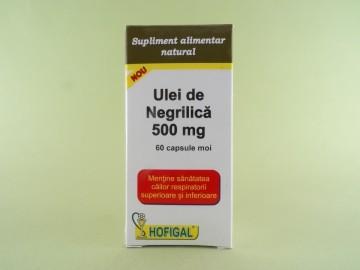 Ulei de Negrilica 500 mg HOFIGAL