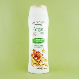 Lapte de corp nutritiv Argan line GEROCOSSEN (400 ml)
