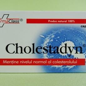 Cholestadyn FARMACLASS (50 de capsule)