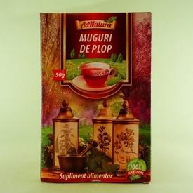 Ceai muguri de plop  ADNATURA (50 g)